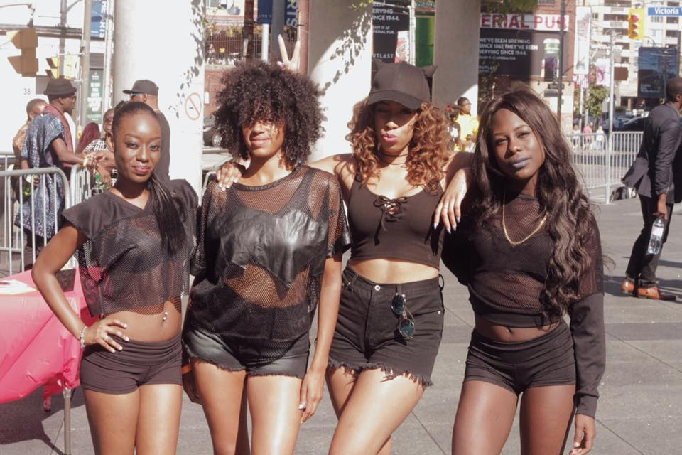 Me and my dancers for TDot Fest 2016