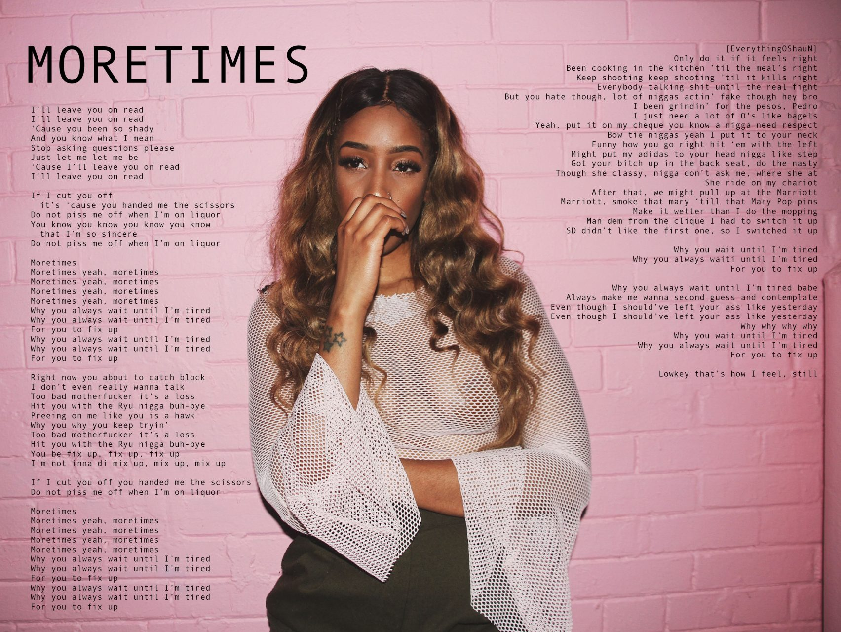 Staasia Daniels – the 1+2 ep – Digital Booklet – Page 5 – MORETIMES Lyrics